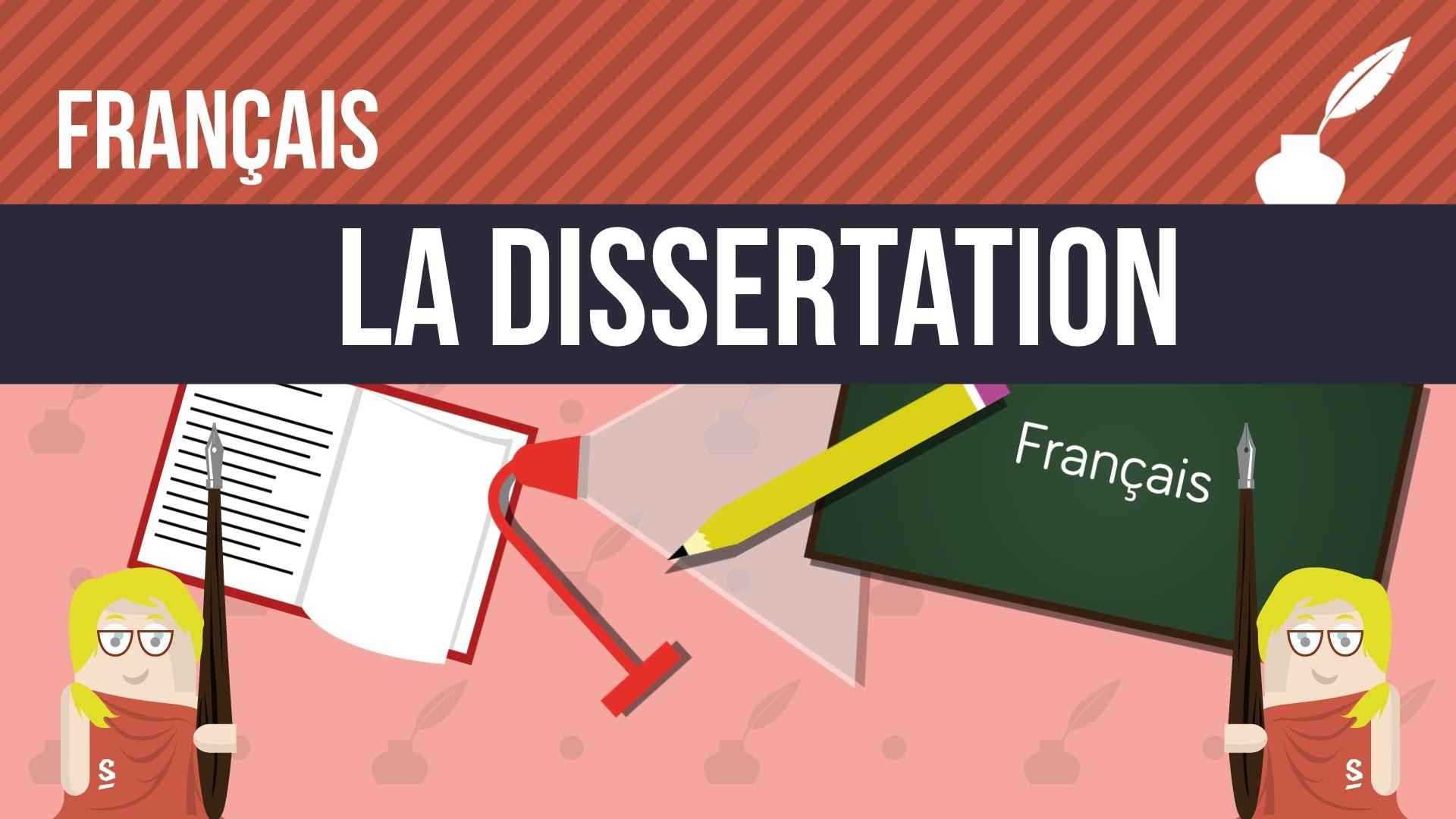 Comment ecrire dissertation